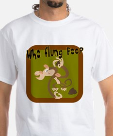 Who Flung Poo? Shirt