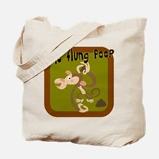 Who Flung Poo? Tote Bag