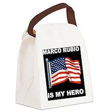 ALLEN WEST FLAGD Canvas Lunch Bag