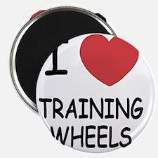 I heart training wheels Magnet