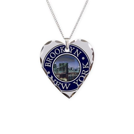 Brooklyn, NY Necklace Heart Charm