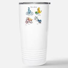 Dogs on Bikes Mugs
