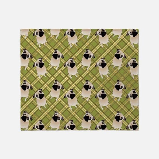 Pug 1 (11) Throw Blanket