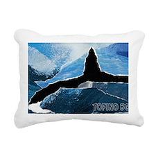 Tofino Killer Whale Rectangular Canvas Pillow