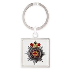 4 Inch Orthodox Order of Saint Ann Square Keychain