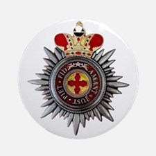 4 Inch Orthodox Order of Saint Anna Round Ornament
