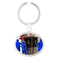 Tower of Terror Weekend Logo Oval Keychain