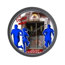 Tower of Terror Weekend Logo Wall Clock