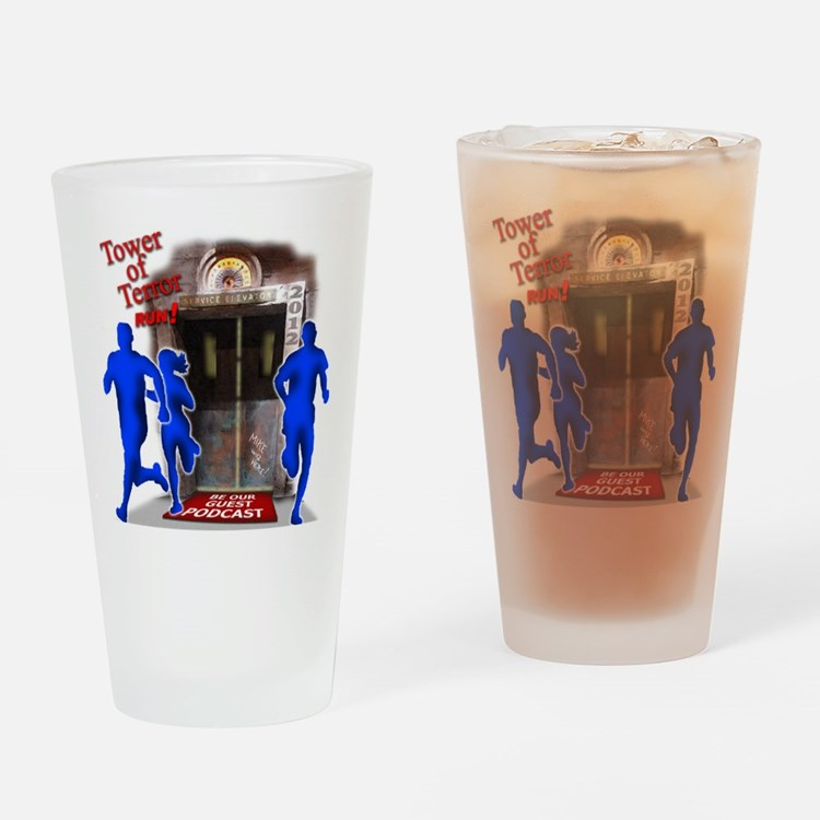 Tower of Terror Weekend Logo Drinking Glass