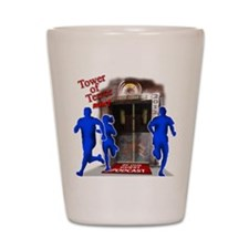 Tower of Terror Weekend Logo Shot Glass