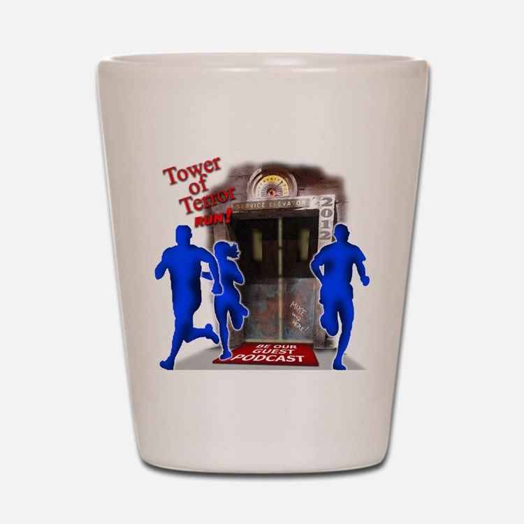 Tower of Terror Weekend Logo Shot Glass