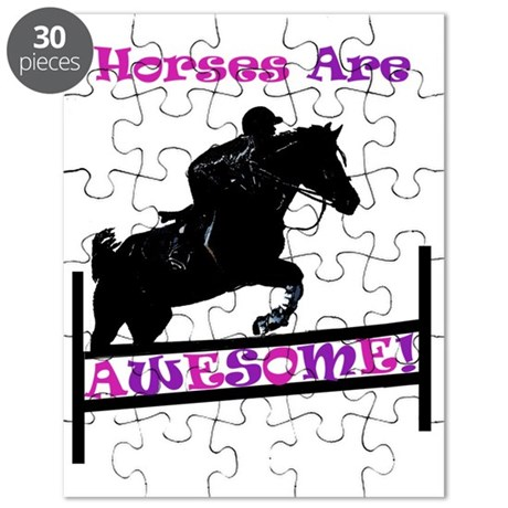 Horses Are Awesome Puzzle