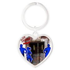 Tower of Terror Weekend Logo Heart Keychain