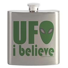 UFO I BELIEVE/ALIEN T-SHIRTS  GIFTS Flask