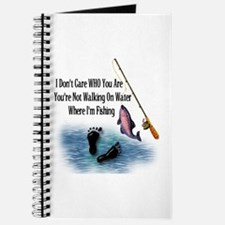 Fishing Here! Journal