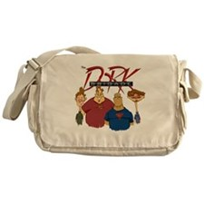 Dork Brigade Comic Style Messenger Bag