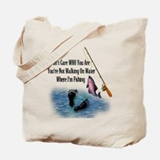 Fishing Here! Tote Bag
