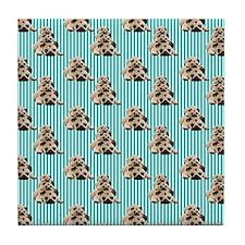 Pug Stacks (5) Tile Coaster