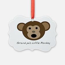 Grandpas Little Monkey Ornament