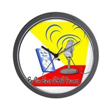 Be Our Guest WDW Podcast Logo Wall Clock