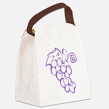 Grape Traipse Canvas Lunch Bag