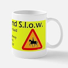 Wide and Slow Ontario Mug