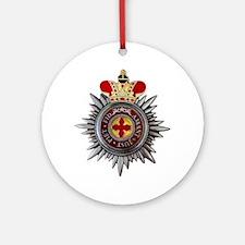 8 Inch Orthodox Order of Saint Anna Round Ornament