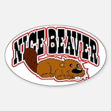 Nice Beaver Decal