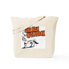 One Man Wolfpack Tote Bag