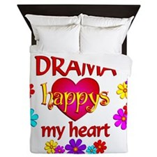 Happy Drama Queen Duvet