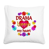 Drama teacher Square Canvas Pillows