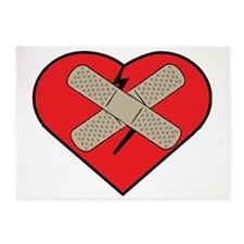 Heart Fixer 5'x7'Area Rug