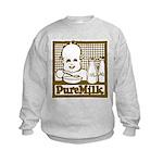 Vintage Pure Milk Kids Sweatshirt