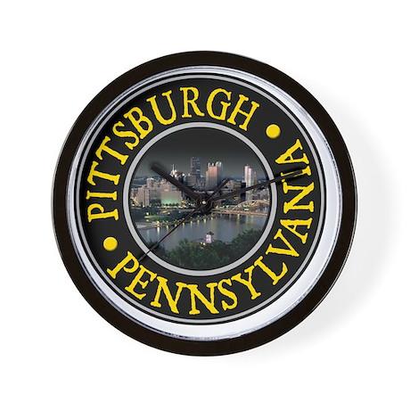 Pittsburgh, PA Wall Clock