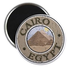 Cairo, Egypt - Distressed Magnet