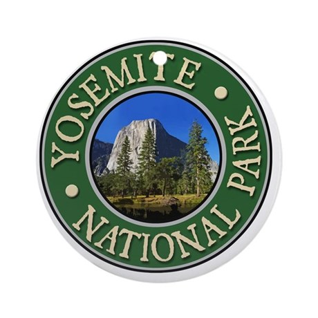 Yosemite1-New Round Ornament