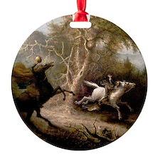 Sleepy Hollow Headless Horseman Ornament
