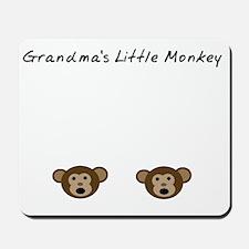 Grandmas Little Monkey Mousepad