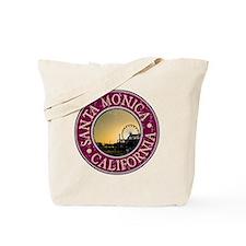 Santa Monica, CA  - Distressed Tote Bag