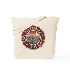 San Antonio, TX - Distressed Tote Bag