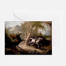 Sleepy Hollow Headless Horseman Greeting Card