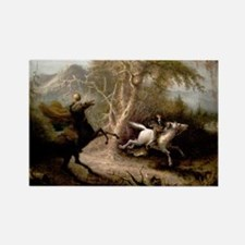 Sleepy Hollow Headless Horseman Rectangle Magnet