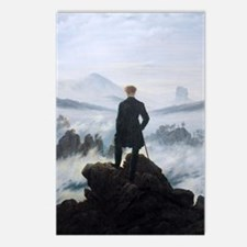 Caspar David Friedrich wa Postcards (Package of 8)