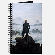 Caspar David Friedrich wanderer above the  Journal