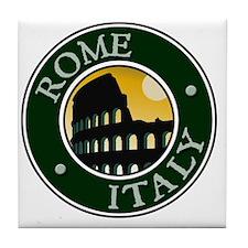 Rome, Italy Tile Coaster