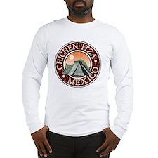 Chichen Itza - Distressed Long Sleeve T-Shirt