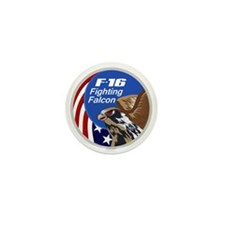F-16 Falcon Mini Button