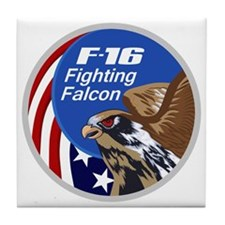 F-16 Falcon Tile Coaster