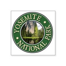 "Yosemite2-New Square Sticker 3"" x 3"""