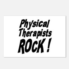 Physical Therapists Rock ! Postcards (Package of 8
